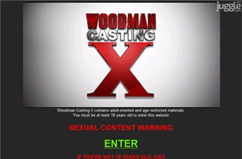 woodmancastingx.com Homepage Screenshot