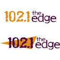 102.1 The Edge Logo