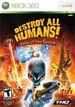 Destroy All Humans! Path of the Furon Cover