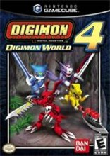 Digimon World 4 Cover