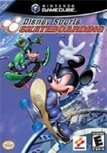Disney Sports Skateboarding Cover