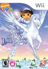 Dora the Explorer Dora Saves the Snow Princess Cover