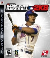 Major League Baseball 2K8 Cover
