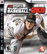 Major League Baseball 2K9 Cover