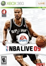 NBA Live 09 Cover