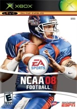 NCAA Football 08 Cover
