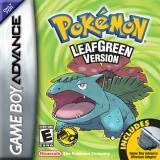 Pokemon LeafGreen Version Cover