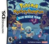 Pokemon Mystery Dungeon: Blue Rescue Team Cover