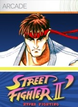 Street Fighter II Hyper Fighting Cover