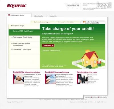 how to change address for equifax report
