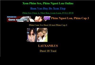 lauxanh.org Homepage Screenshot
