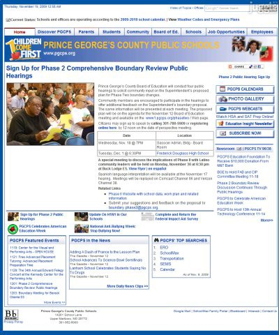 prince george library board application