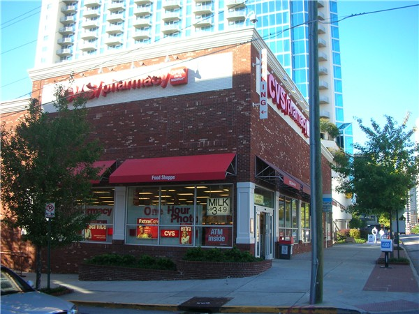 one of several urban cvs stores in atlanta  georgia