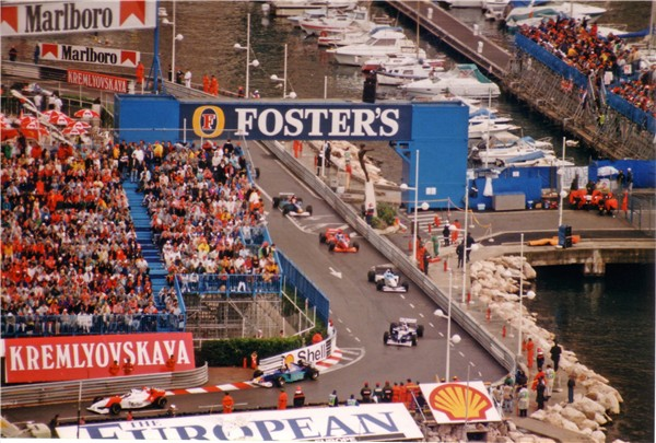 monaco gp map. 1996 Monaco Grand Prix.