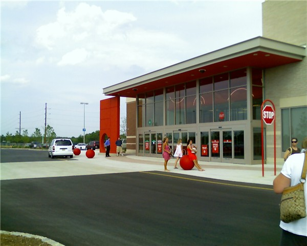 target store pictures. A newer Target Store design