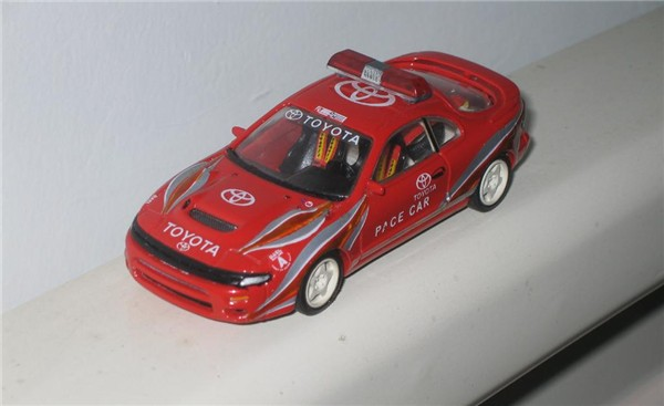 Toyota Celica Gt4 Rally Car. 1/43 scale ST185 Pace car