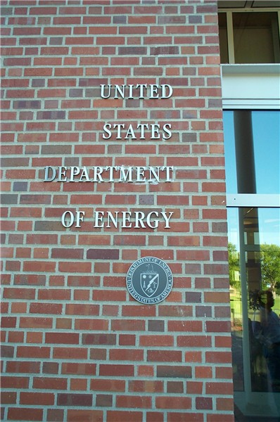 Department Of Energy. Department of Energy seal