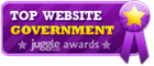 California - Top Government Website Award Badge