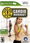 Gold's Gym Cardio Workout Cover