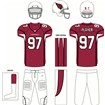 Arizona Cardinals Home Uniform