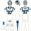 Carolina Panthers Road Uniform