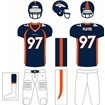 Denver Broncos Home Uniform