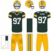 Green Bay Packers Home Uniform