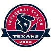 Houston Texans Anniversary Logo