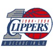 Los Angeles Clippers Anniversary Logo