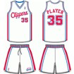 Los Angeles Clippers Home Uniform
