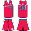 Los Angeles Clippers Road Uniform