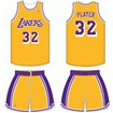 Los Angeles Lakers Home Uniform