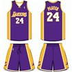 Los Angeles Lakers Road Uniform
