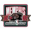 Memphis Grizzlies Anniversary Logo