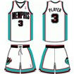 Memphis Grizzlies Home Uniform