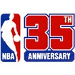 National Basketball Associatio Anniversary Logo