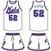 New Jersey Nets Home Uniform