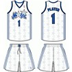 Orlando Magic Home Uniform