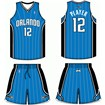Orlando Magic Road Uniform