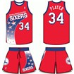 Philadelphia 76ers Road Uniform