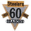 Pittsburgh Steelers Anniversary Logo