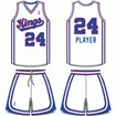 Sacramento Kings Home Uniform