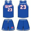 Sacramento Kings Road Uniform