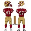 San Francisco 49ers Home Uniform