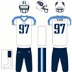 Tennessee Titans Alternate Uniform