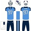 Tennessee Titans Home Uniform