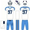 Tennessee Titans Road Uniform