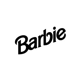 Barbie Logo Black Barbie Logo