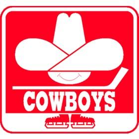 Calgary Cowboys Primary Logo