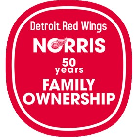 Detroit Red Wings Logo http://www.brandprofiles.com/detroit-red-wings-anniversary-logo-3